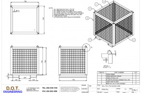750KG 750 x 750 x 750 Goods Cage
