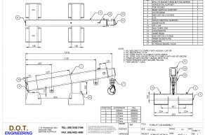 4.5T Extendable Inclined Forklift Jib