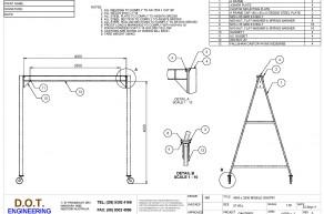 """5T """"A"""" Frame Mobile Gantry"""
