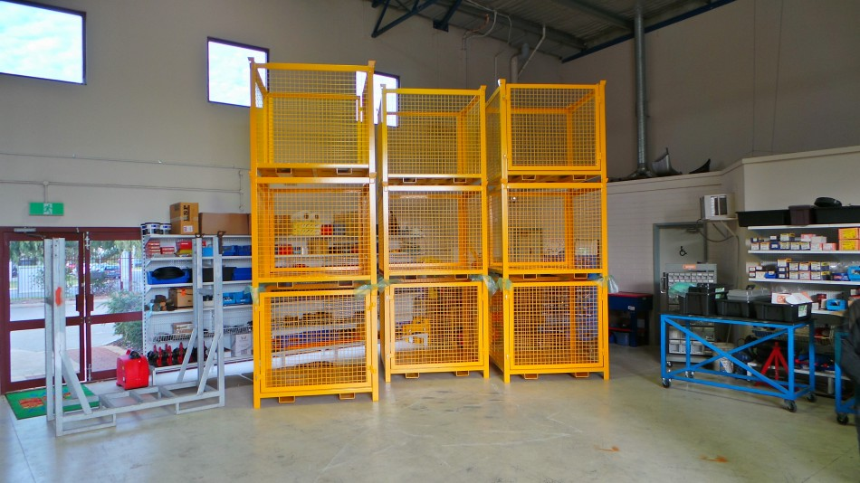 Dwg 11245 1t Stackable Pallet Cage D O T Engineering