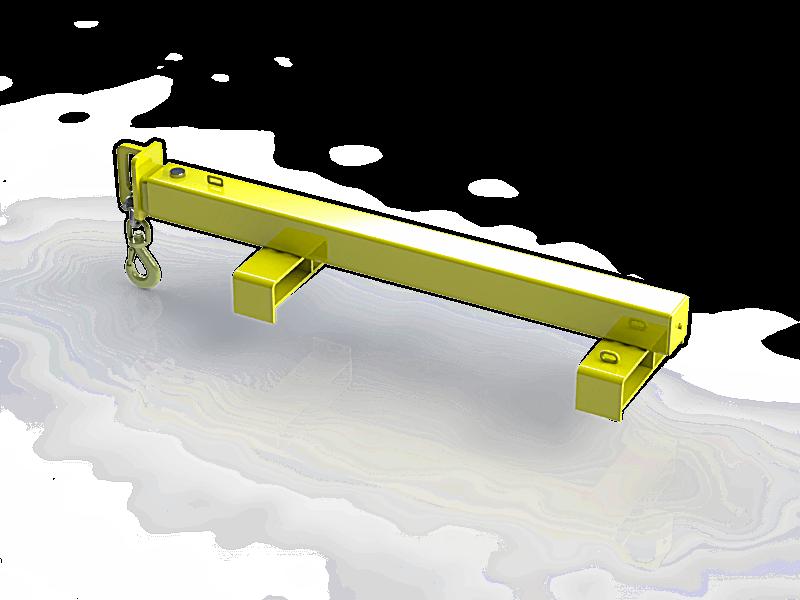 Dot 10059 2t Forklift Jib D O T Engineering
