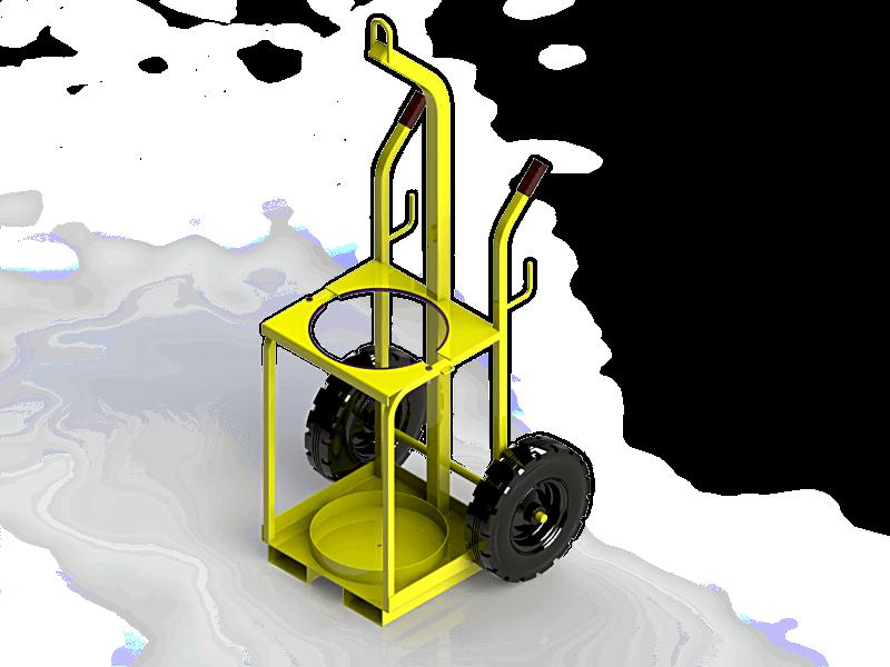 Single S Size Propane Trolley D O T Engineering