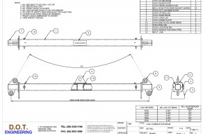 30T 4-6m Combination Lifting-Spreader Beam