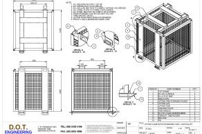 2T Standard Pallet Lifting Frame