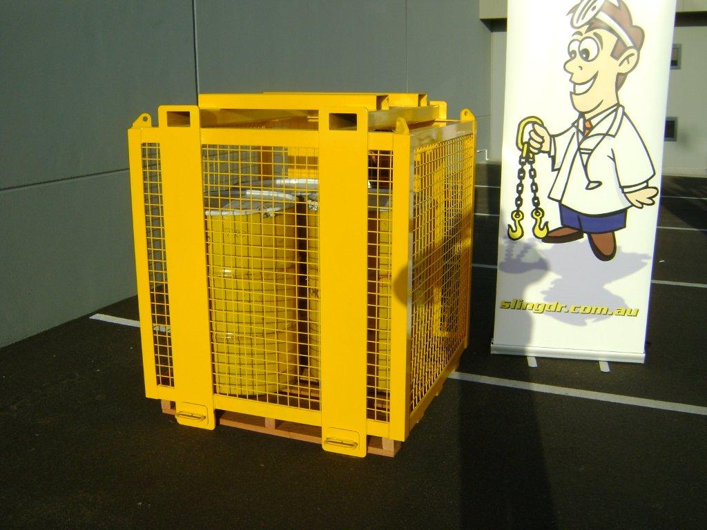 2t Pallet Lifting Cage D O T Engineering